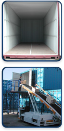 Containers, De-stuff, storage, supply chain management, London, Bedford, fulfilment